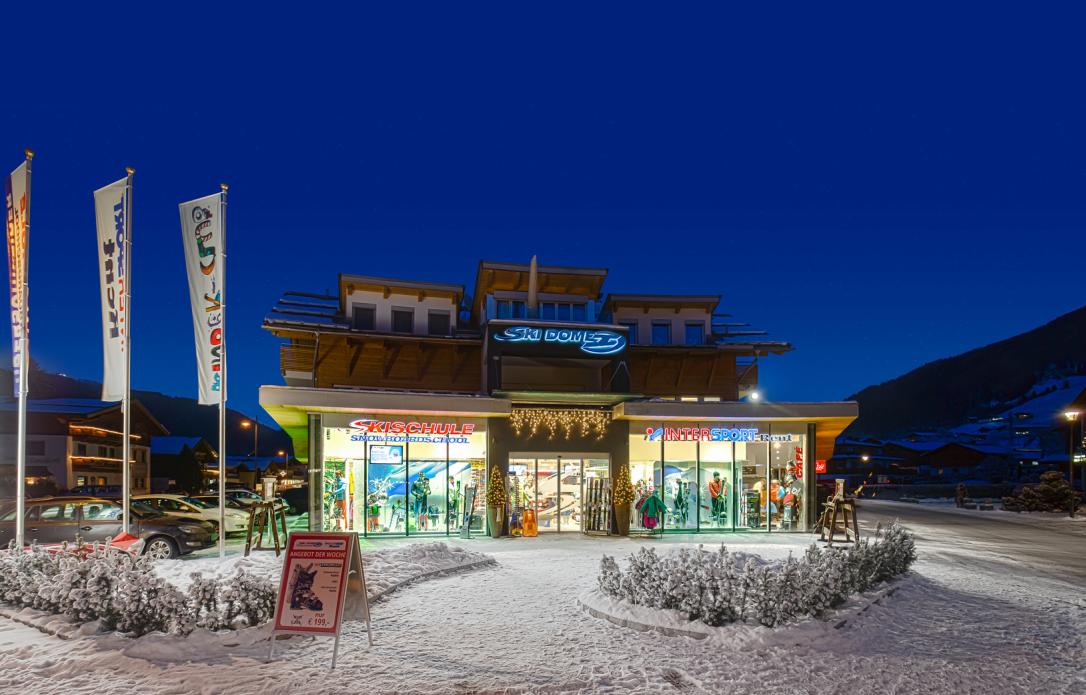 Appartementen Ski Dome