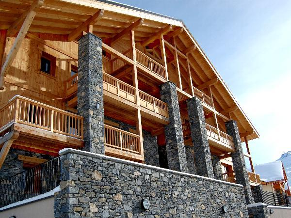 Chalet-appartement Dame Blanche met sauna en open haard - 8 personen