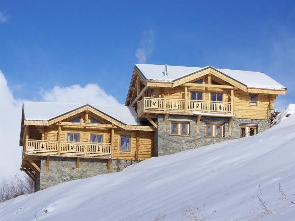 Chalet Leslie Alpen met sauna en jacuzzi - 10-12 personen
