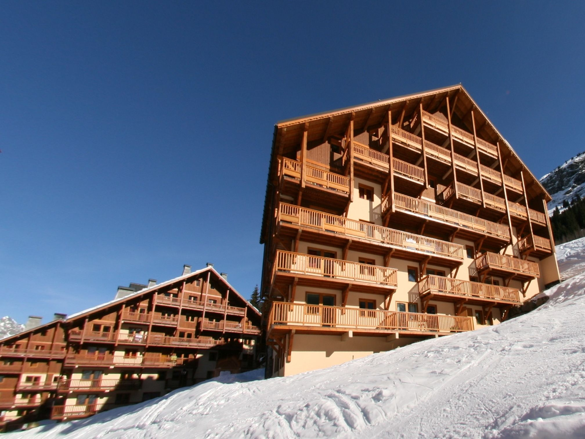 Chalet-appartement Des Neiges met sauna - 10 personen